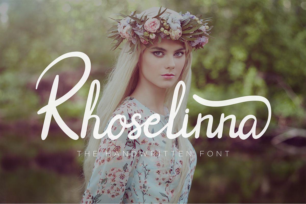 Rhoselinna - Handwritten example image 1