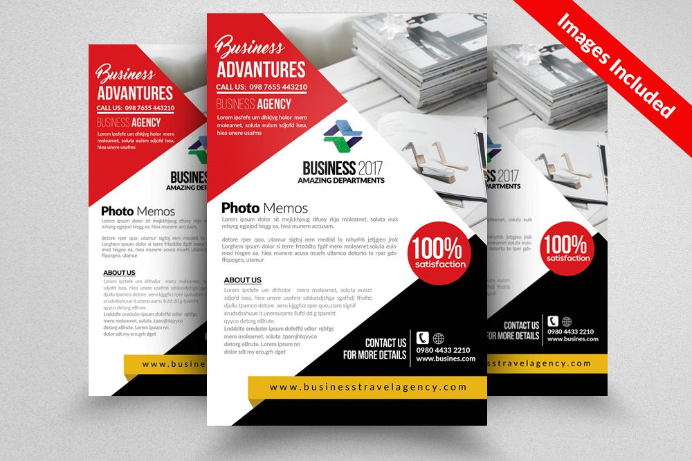 Homeowners Association Psd Flyer Templates example image 1