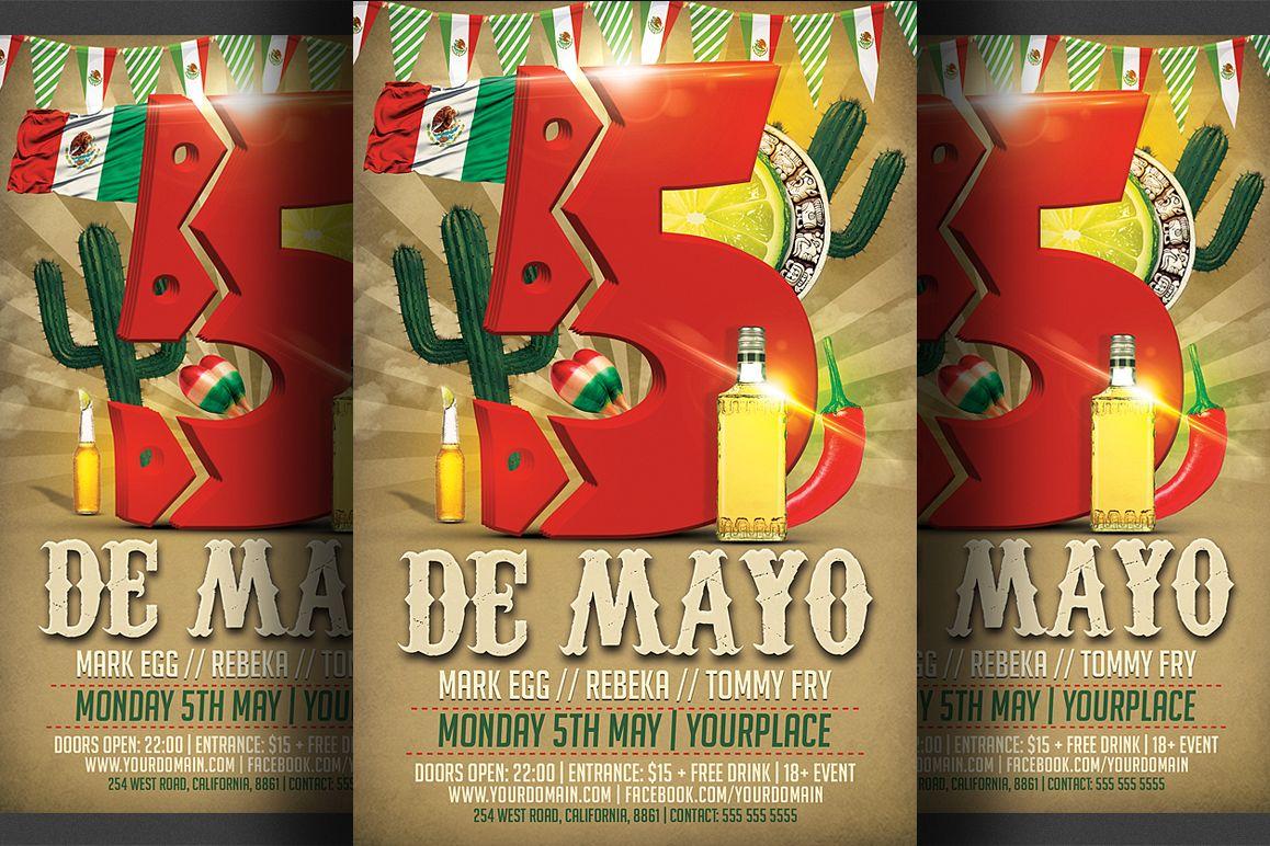 Cinco De Mayo Flyer example image 1