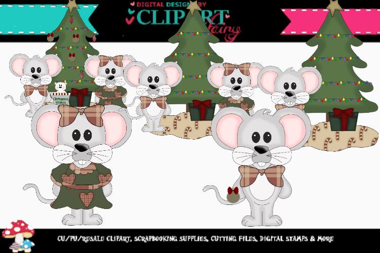 Christmas Mice example image 1