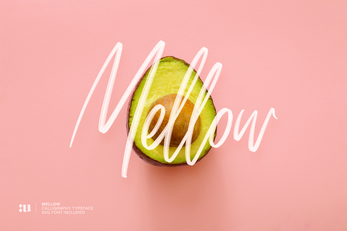 Mellow - Brush & SVG Font example image 1