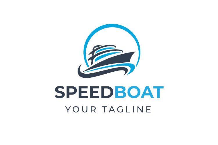 Speed Boat Logo Design example image 1
