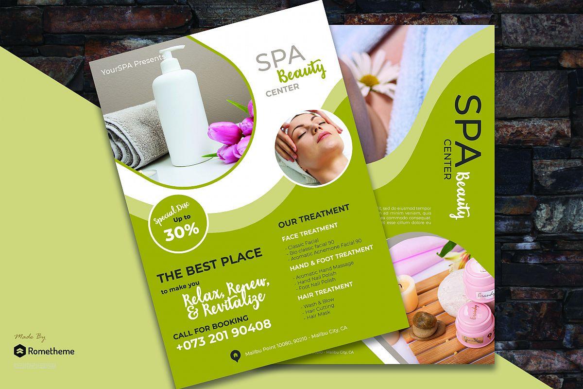 Spa flyer vol. 02 example image 1