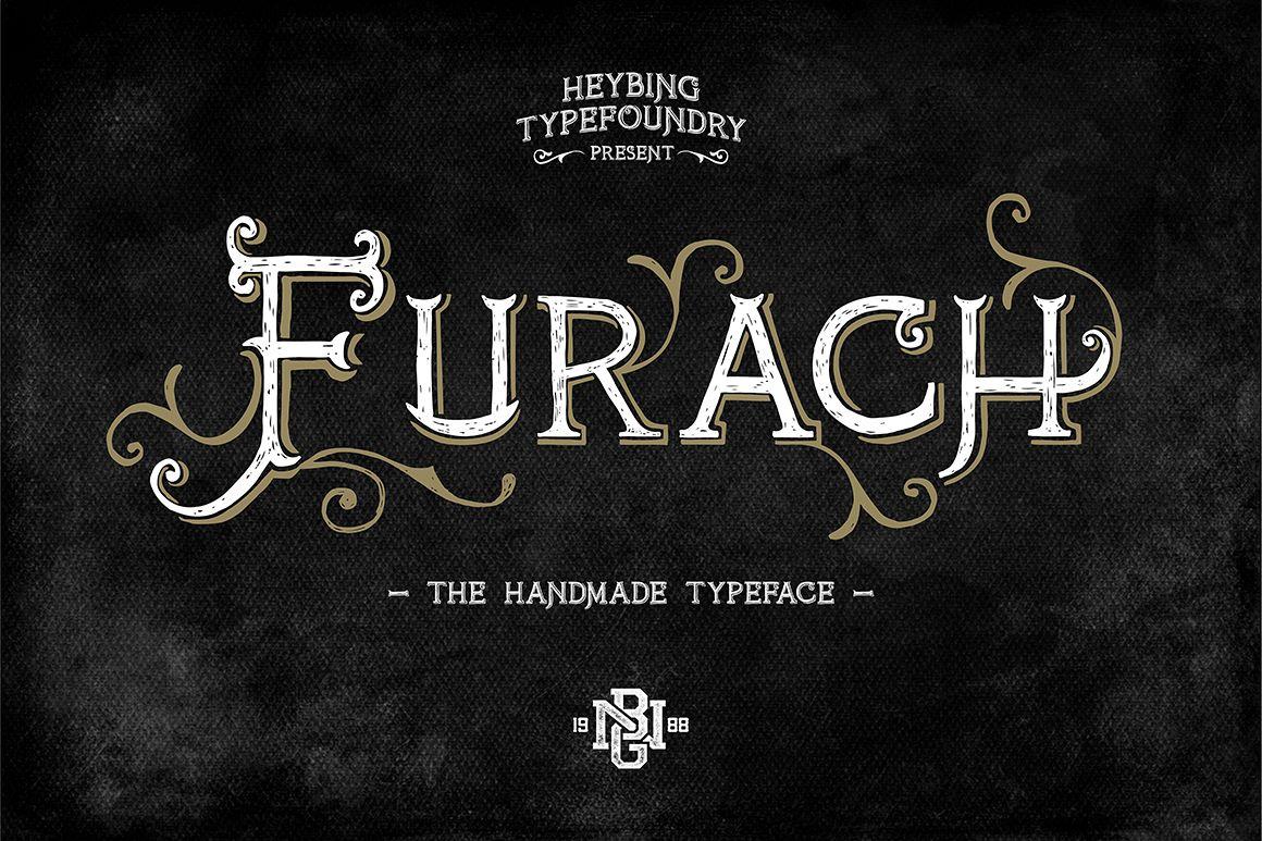 Furach Typeface + Bonus example image 1