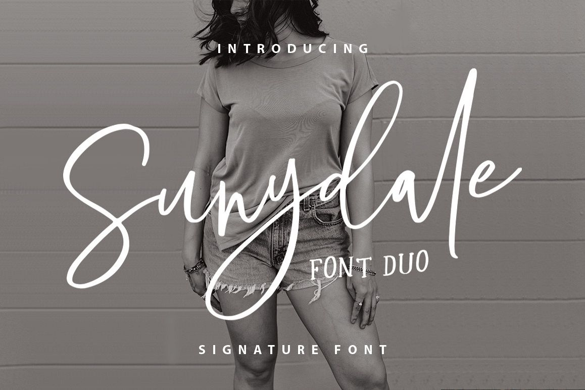 Sunydale Font Duo example image 1