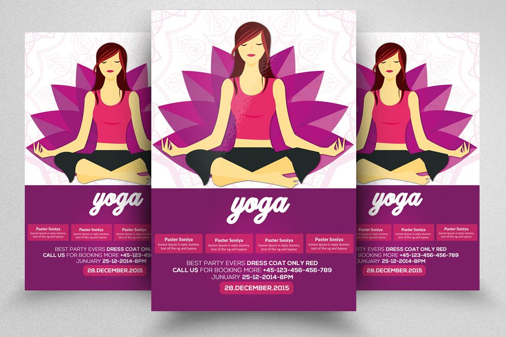 Yoga Flyer Template 06