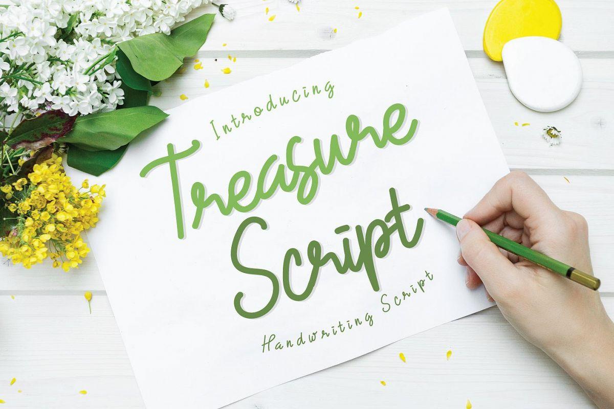 Treasure Script  example image 1