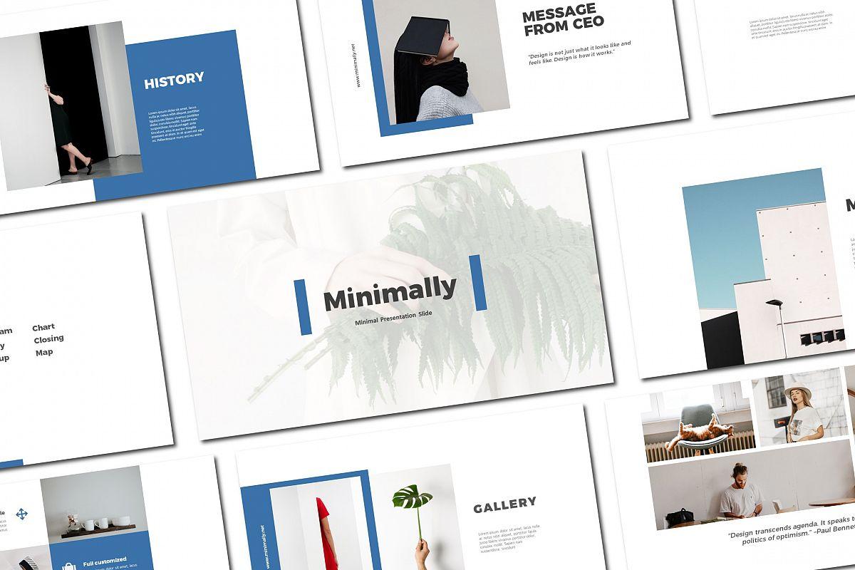Minimally - Powerpoint Templates example image 1