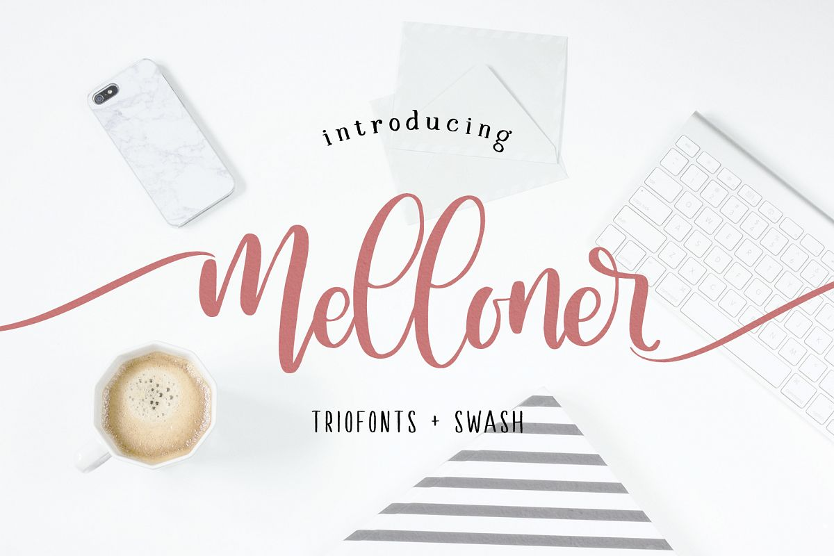 Melloner Font example image 1