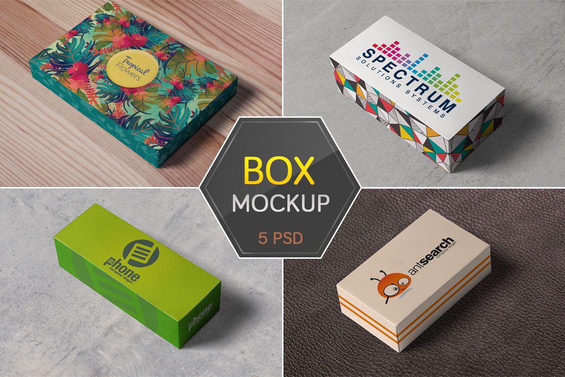 Box / Packaging Mockups example image 1