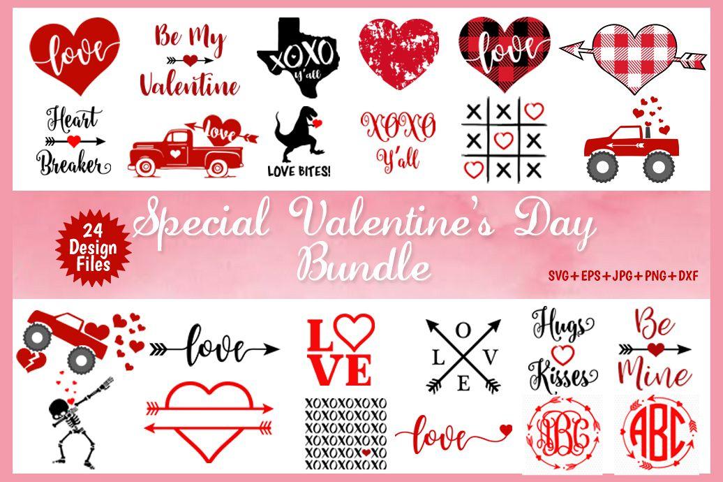 Valentine S Day Svg Bundle Love Svg Files Heart Svg Bundle