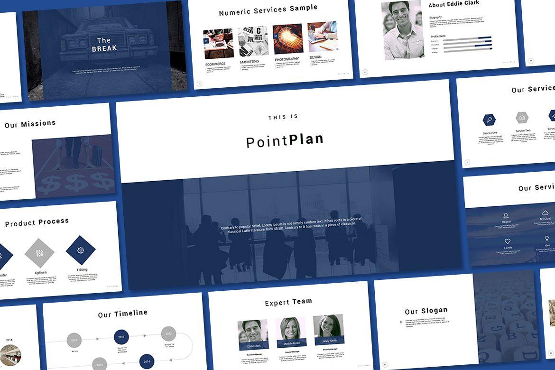 Point Plan Presentation example image 1