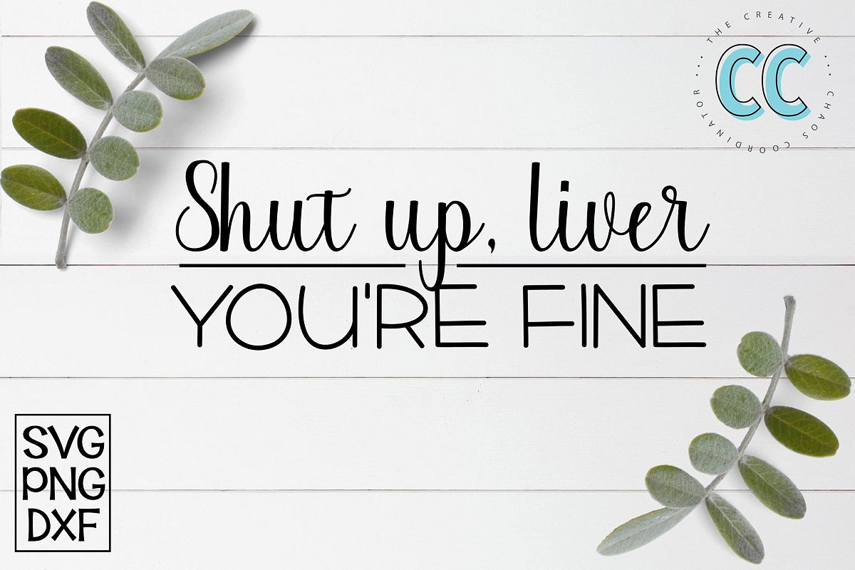 Shut Up, Liver. You're Fine example image 1