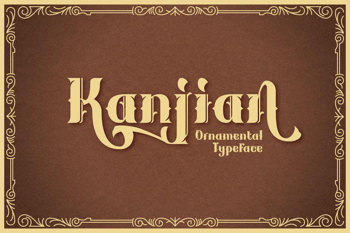 Kanjian Typeface example image 1