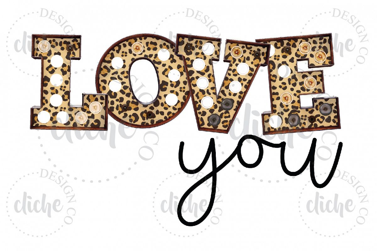 Valentine Sublimation Design example image 1