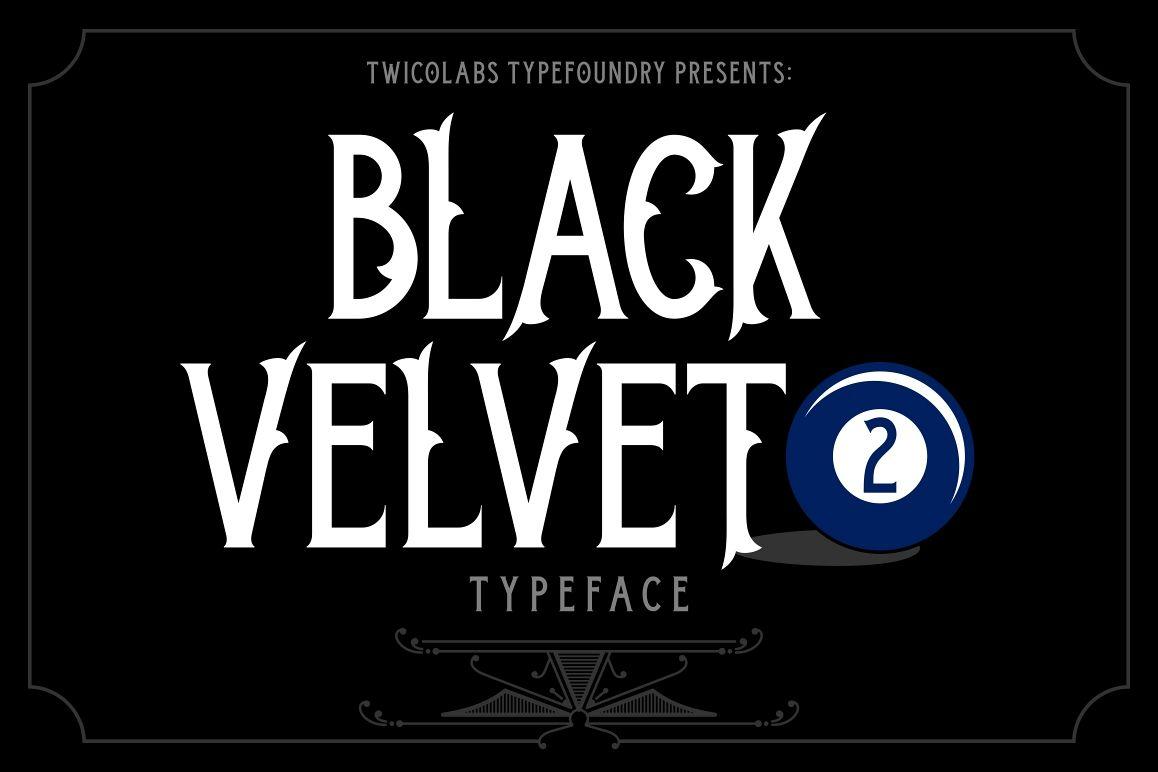 Black Velvet 2 example image 1