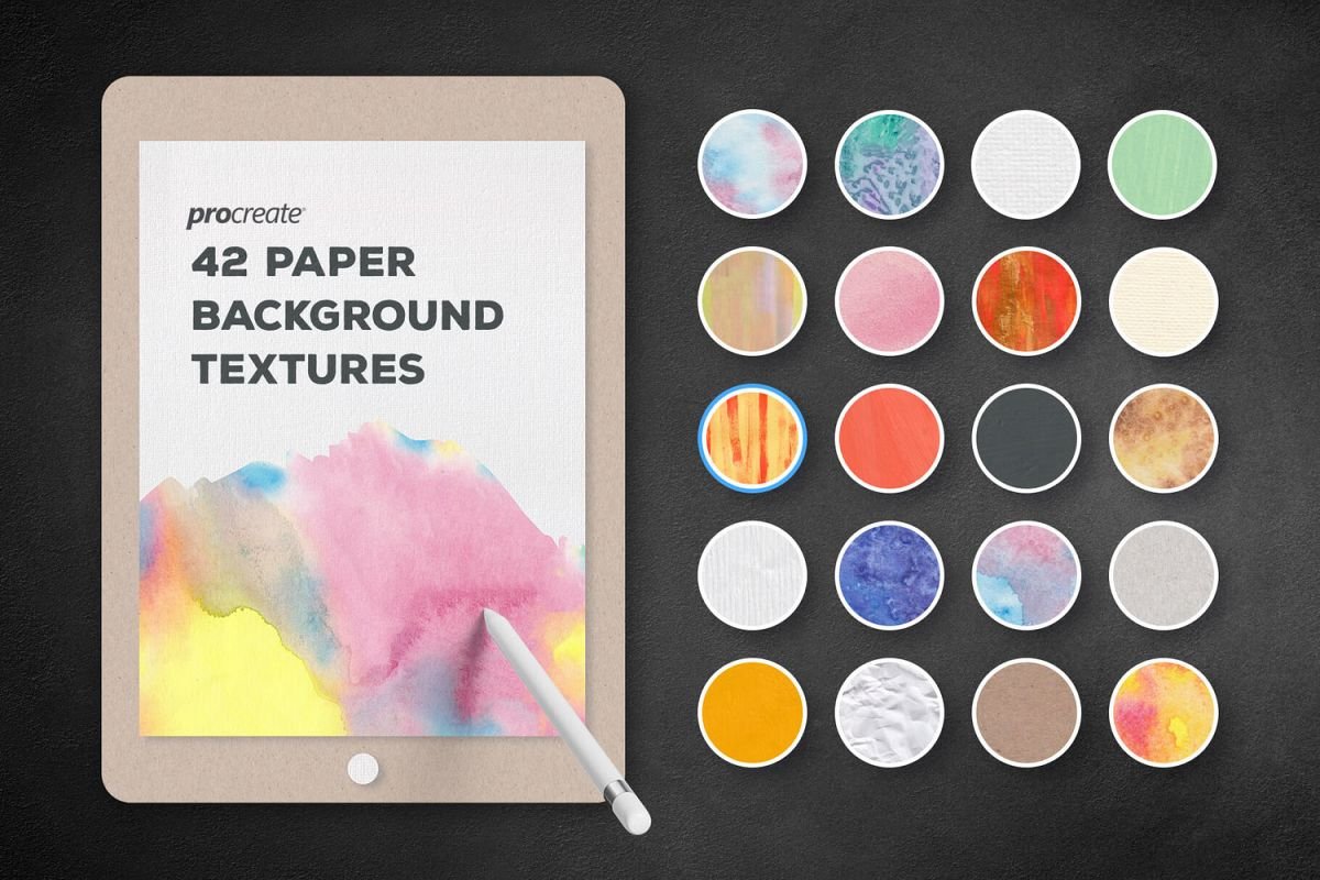 Background Textures for ProCreate example image 1