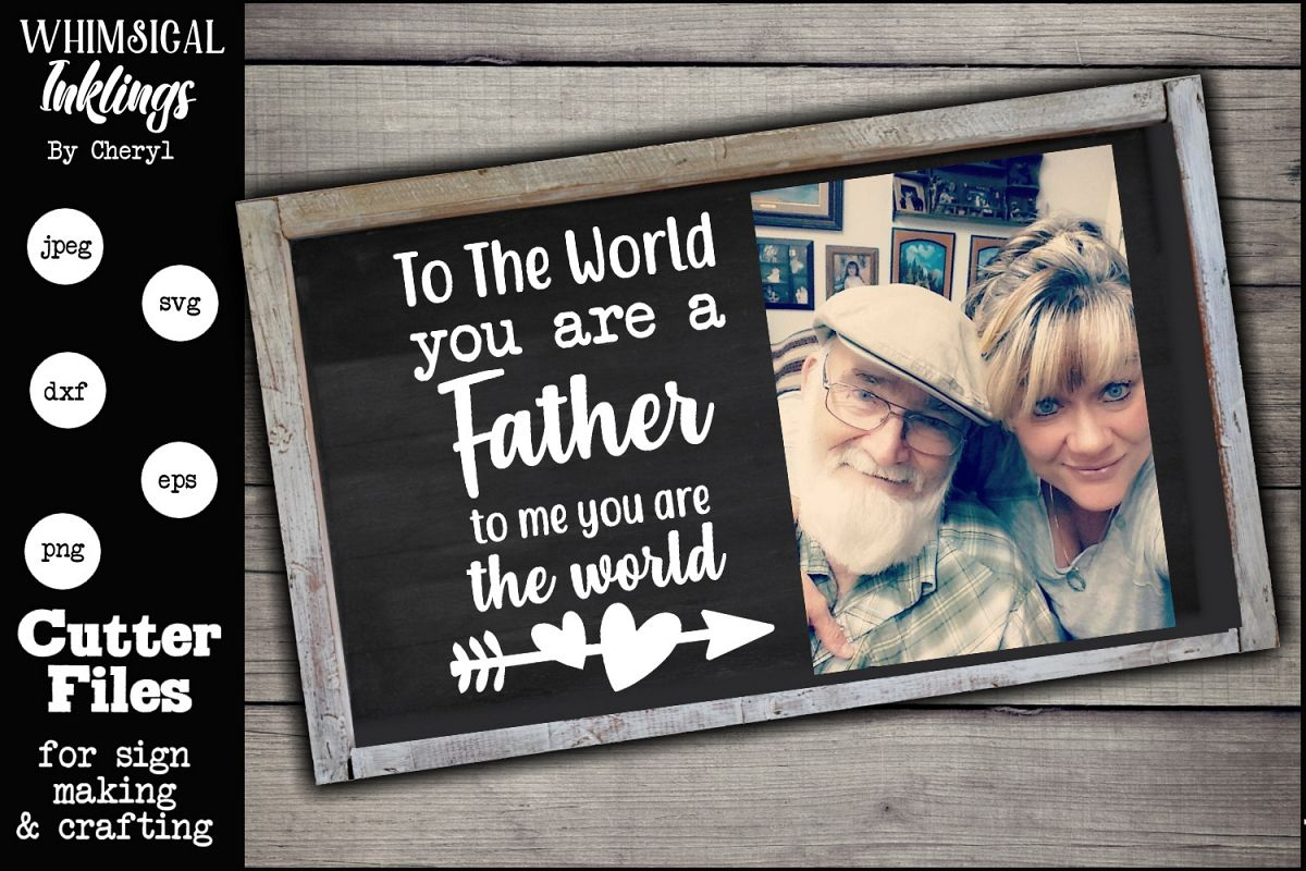 To The World-Father SVG example image 1