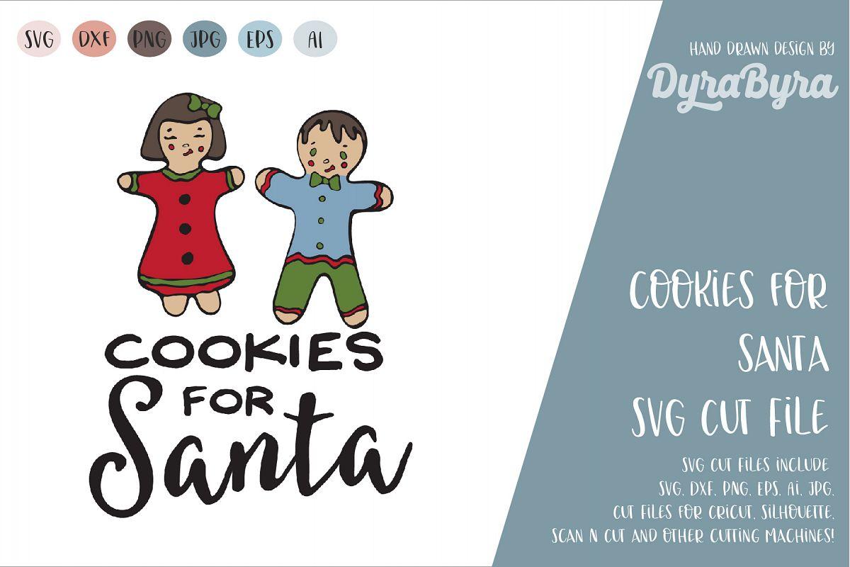 Cookies for Santa SVG / Christmas SVG / Xmas SVG example image 1