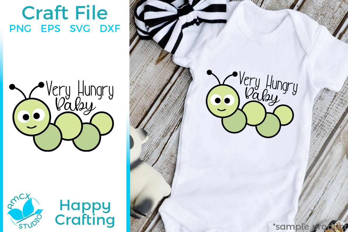 Very Hungry Baby - A Cute Insect Craft File example image 1