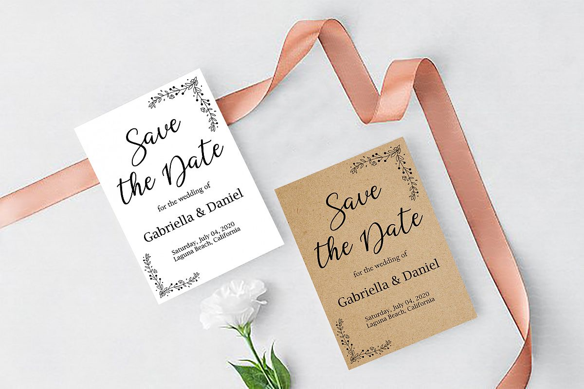 graphic relating to Printable Save the Dates named Printable Preserve The Day Template, instan down load, Father_03