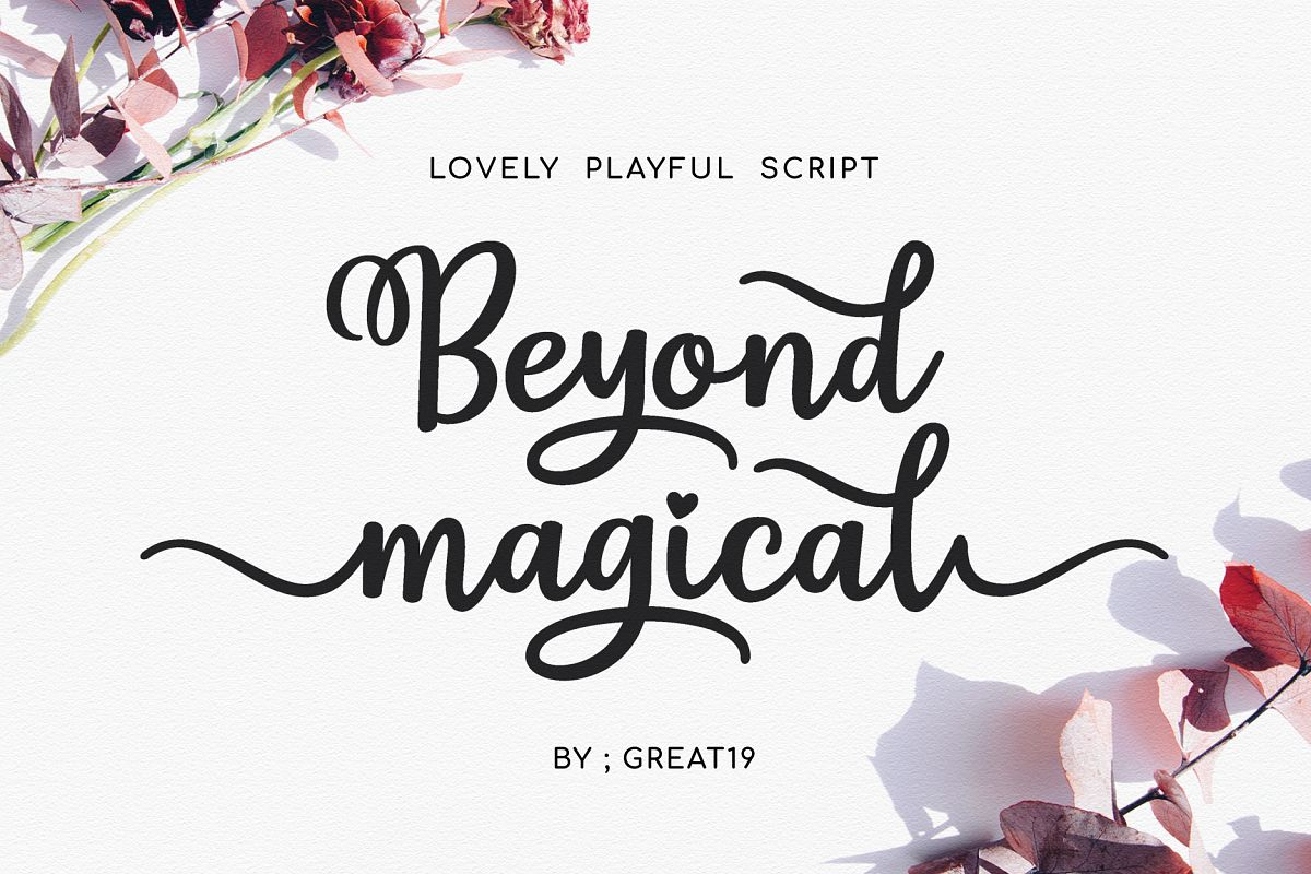 Beyond Magical Script example image 1