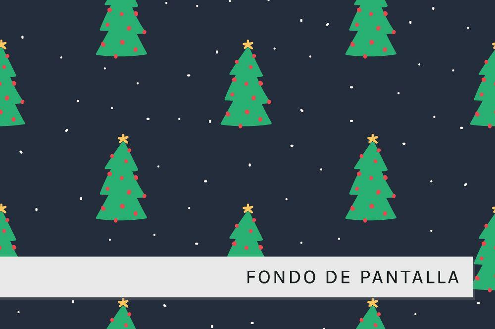 Fondo con Arboles de Navidad example image 1