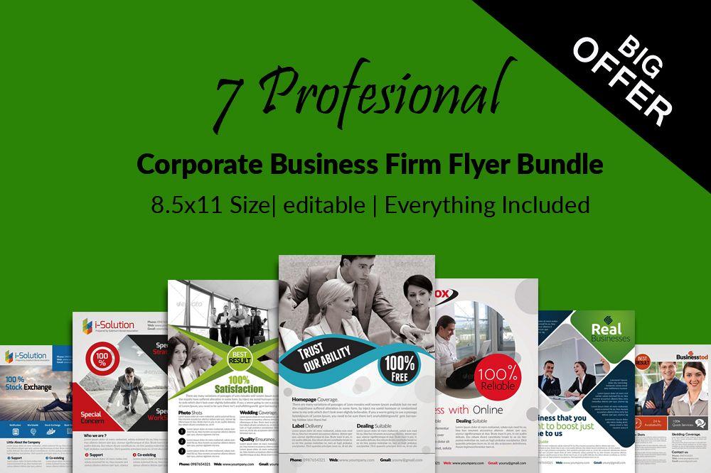 7 Business Flyers Bundle example image 1