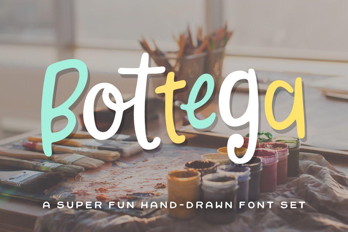 Bottega Font Set example image 1