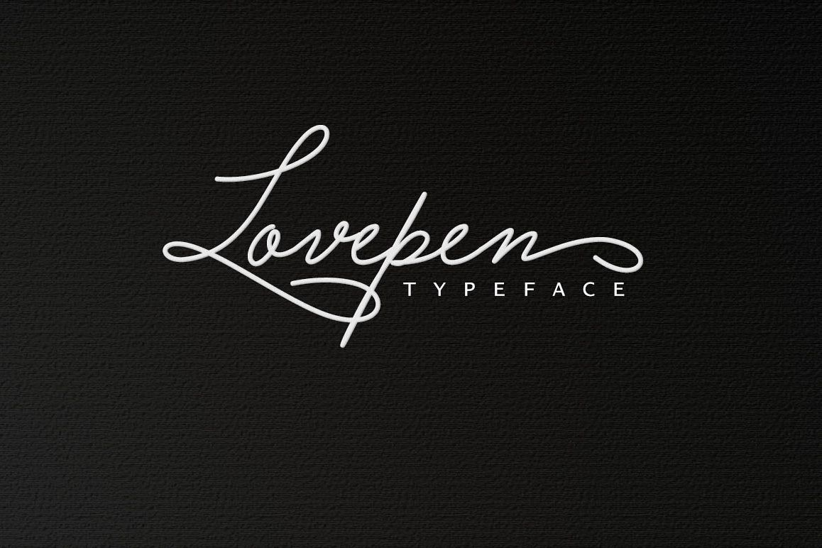 Lovepen Typeface example image 1