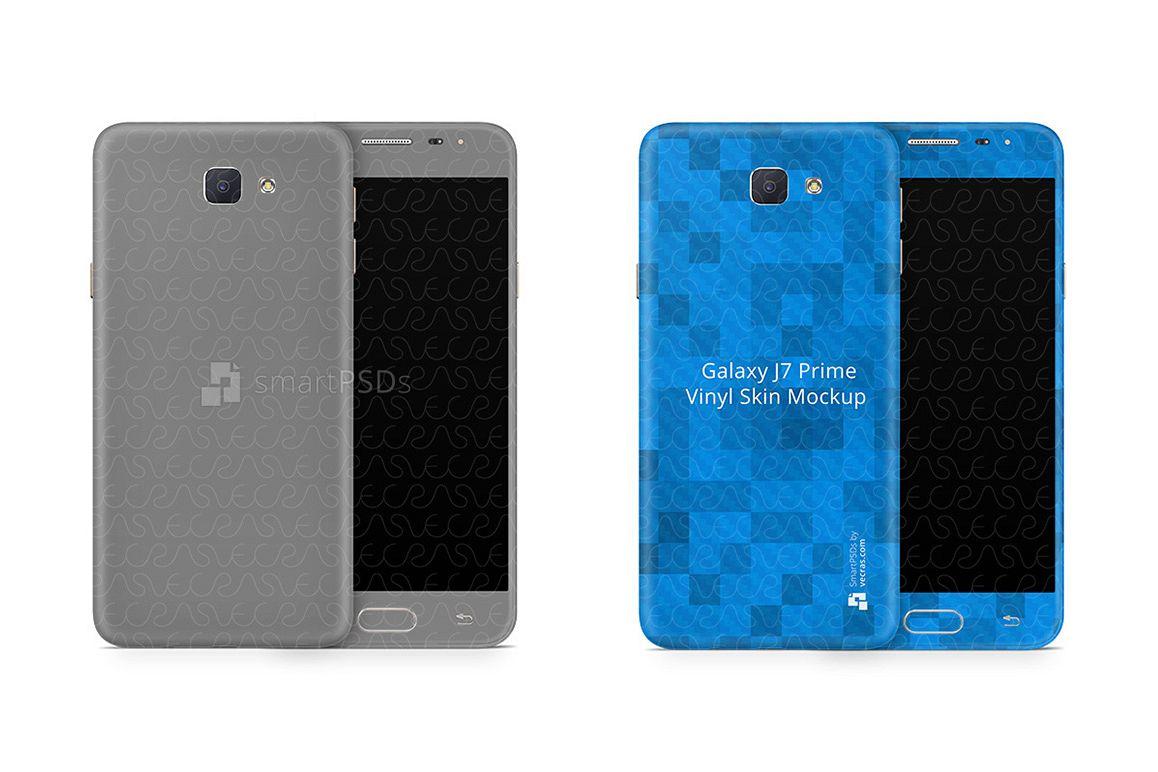 Samsung Galaxy J7 Prime Vinyl Skin Design Mockup 2016 Example Image 1