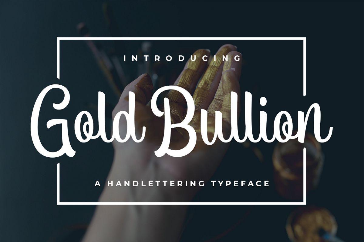 Gold Bullion example image 1