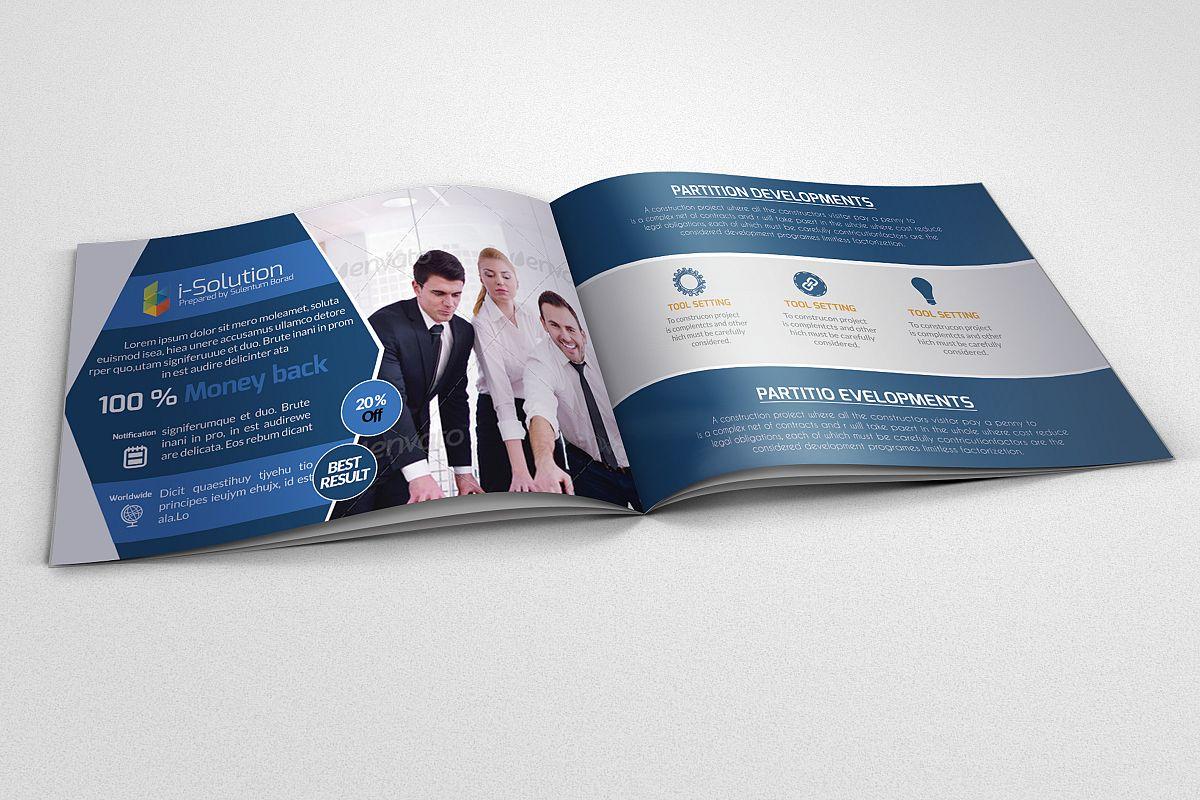 Strategic Business Bifold Brochure example image 1