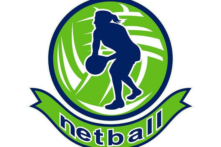Netball player passing ball example image 1