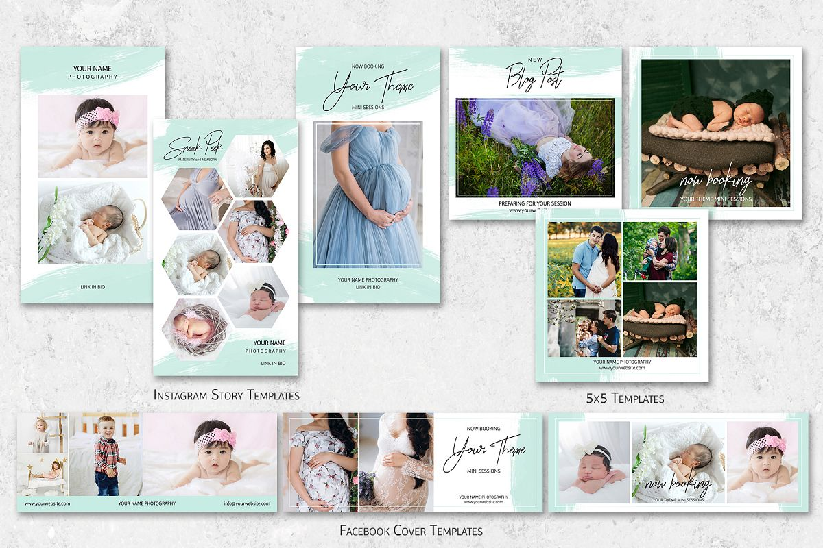 Social Media Marketing Templates for Photographers example image 1