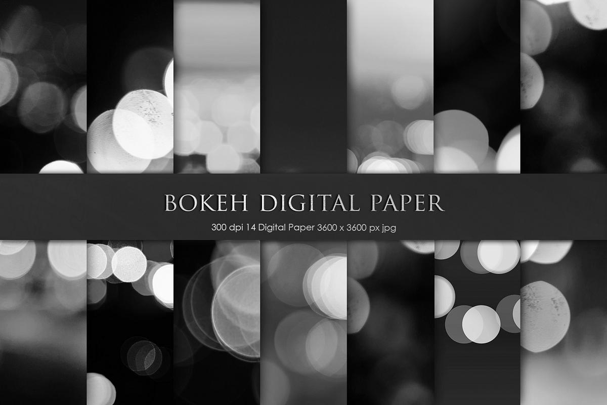 Bokeh Digital Paper example image 1