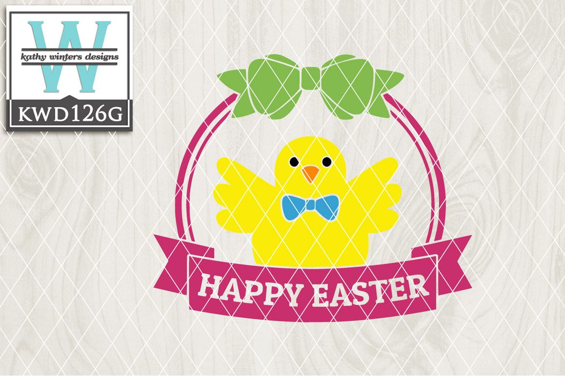 Easter Cutting File KWD126G example image 1