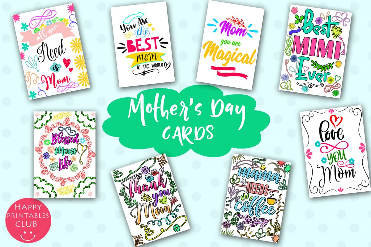 Mother's Day Cards for Moms- Happy Mother's Day Cards example image 1
