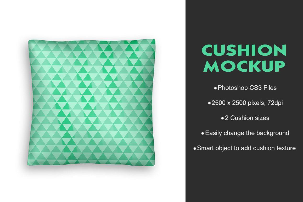 Cushion Mockup example image 1