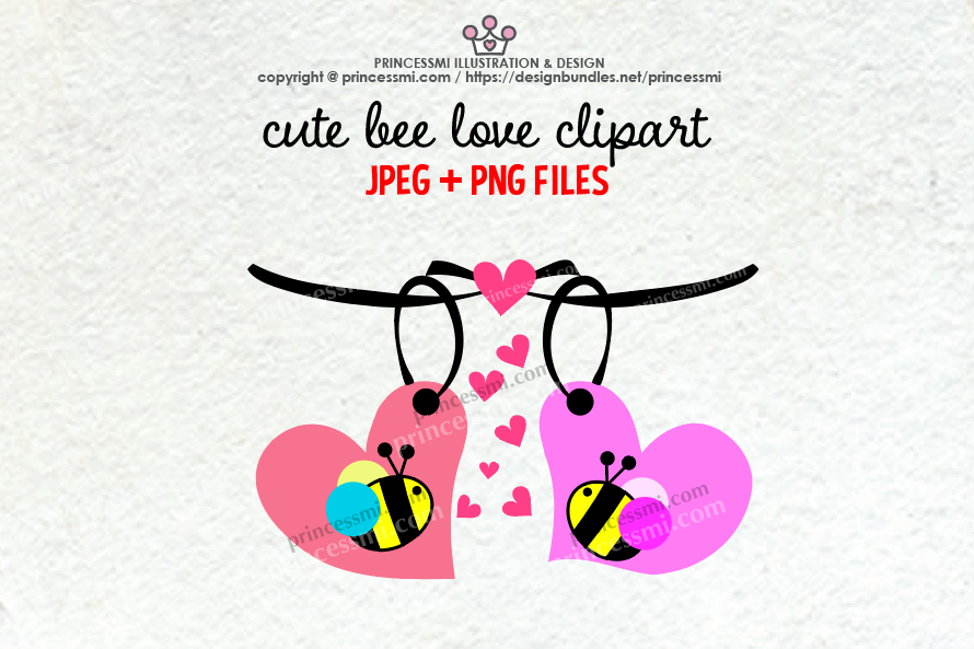 Cute honey bee example image 1