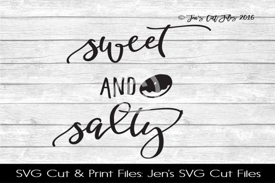 Sweet And Salty SVG Cut File example image 1