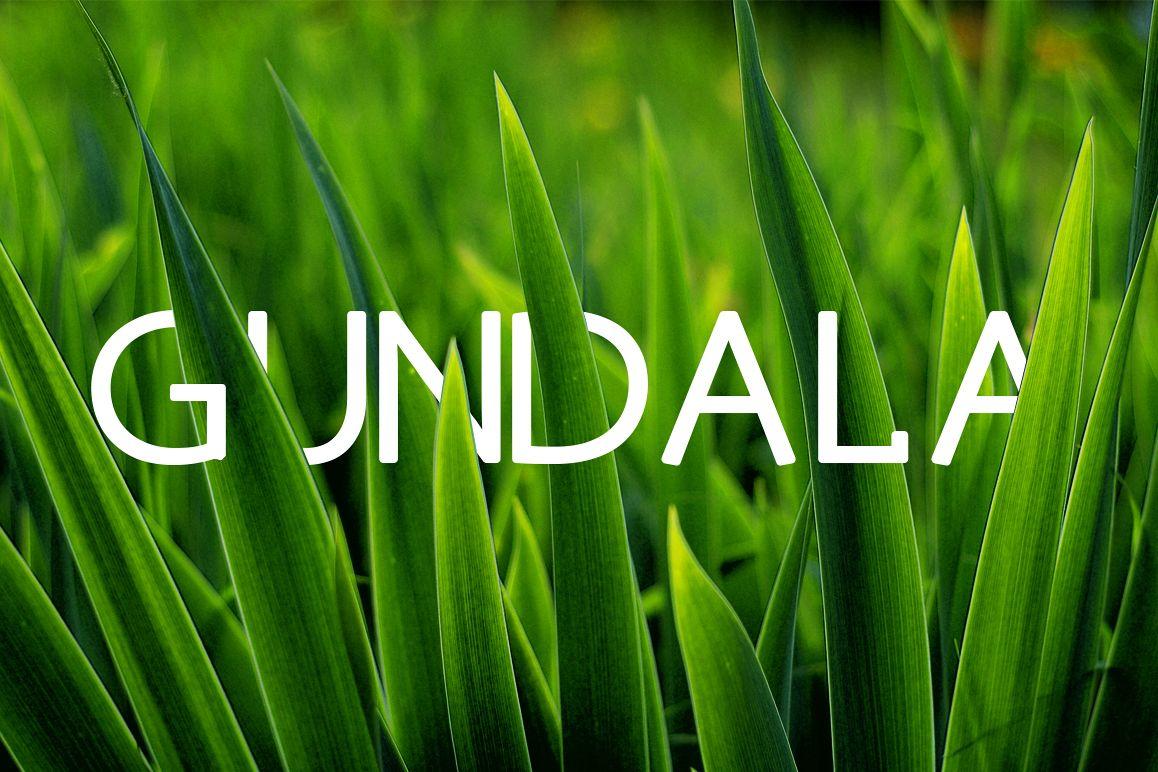 Gundala Font example image 1