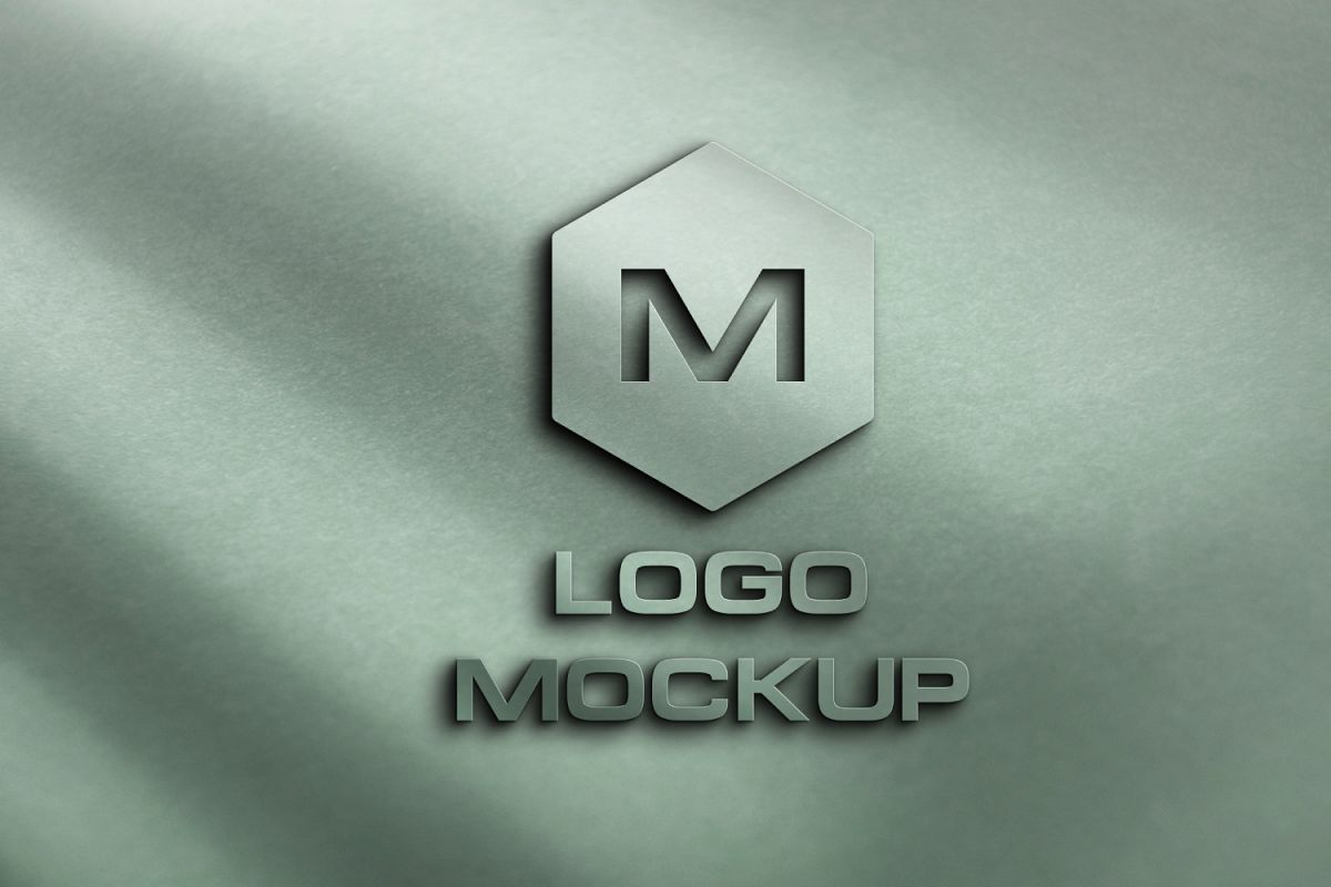 8 logo mockups  3d wall mock up