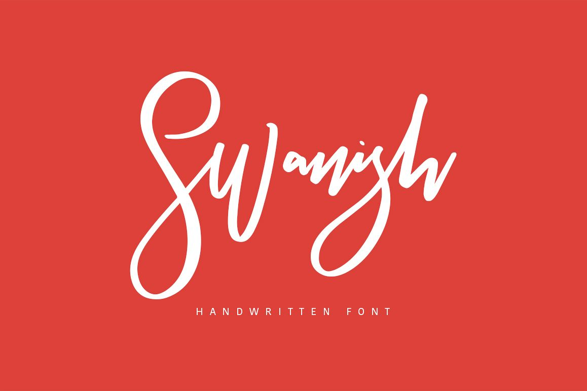 Swanish Typeface example image 1
