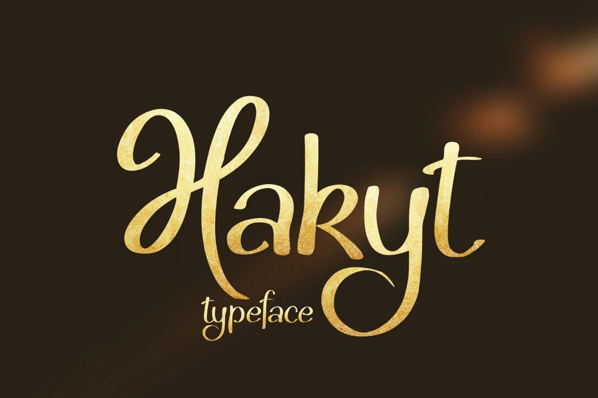 Hakyt Font example image 1