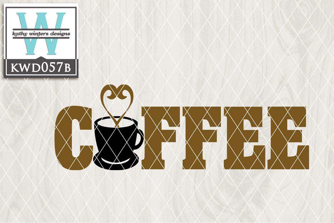 Coffee Cutting File KWD057B example image 1