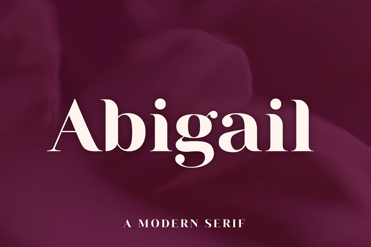 Abigail | A Modern Serif example image 1