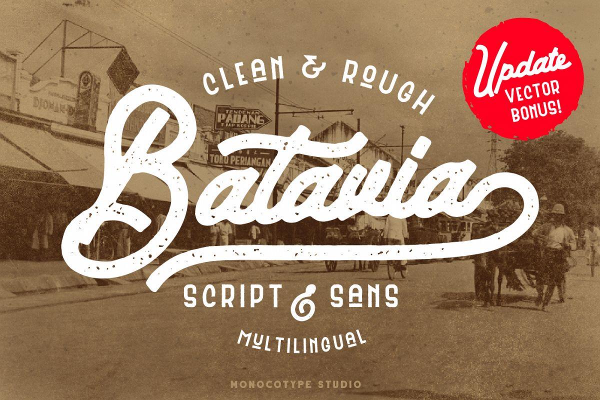 Batavia Duo & Bonus Vector example image 1