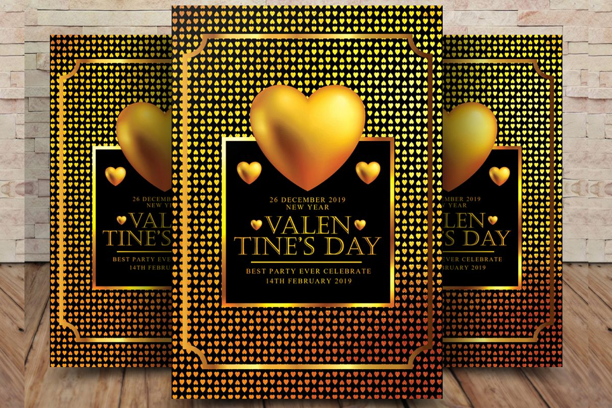Valentines Day Flyer example image 1