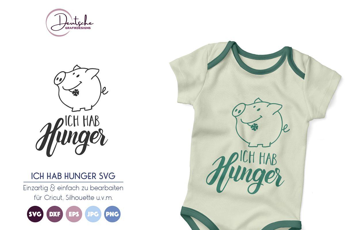 Schwein SVG | Ich hab Hunger example image 1